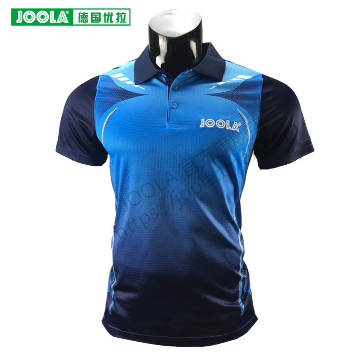 Joola JAZZ Table Tennis Jerseys Top Quality Training T-Shirts Ping Pong Shirts Cloth Sportswear(Hong Kong,China)