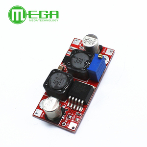 Image 4 - 50pcs Boost Buck DC DC Adjustable Step Up Down Converter XL6009 Power Supply Module 20W 5 32V to 1.2 35V