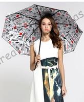 3 adet 1 adet ücretsiz renk seçenekleri fiberglas rüzgar geçirmez 5 kez olsun siyah kaplama anti-uv şemsiye cep mini katlanır kompakt şemsiye