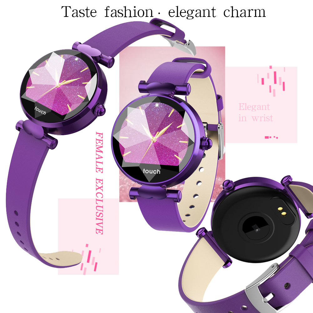 New Fashion Women's Smart Health Bracelet Watch Sports WristBand Blood Oxygen Heart Rate Monitor Female Menstrual Cycle Care