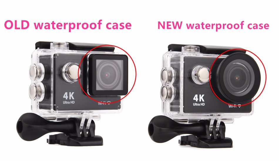 new and old waterproof case