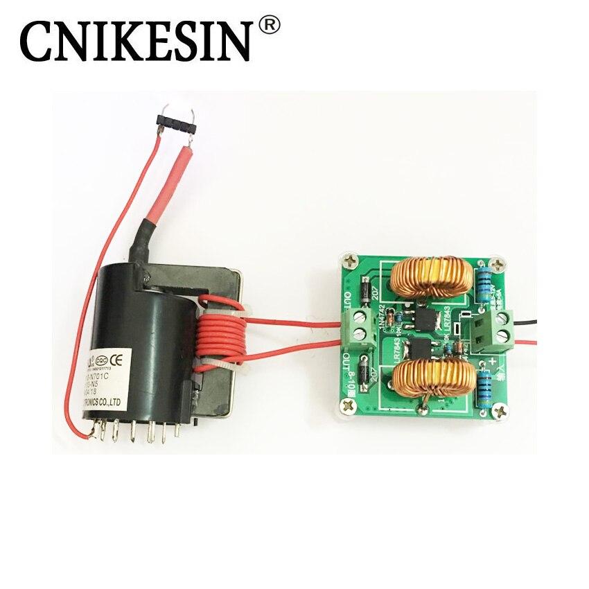 Cnikesin Diy Kits Mini Zvs Tesla High Voltage Generator