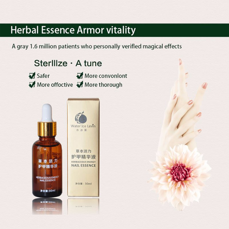 30ml New Health Skin Care Herbal Nail Repair Treatment Essential Oil  Onychomycosis Remover Serum Beauty Disinfect 8