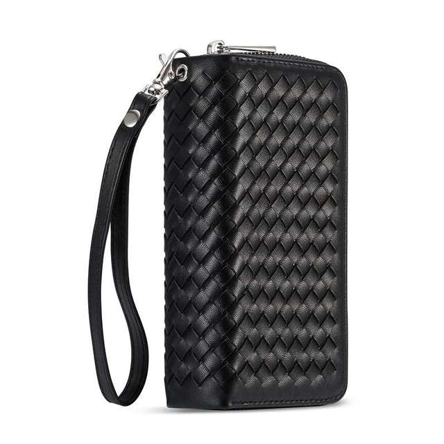 best service 1147c 327b6 Zipper Wallet Case For Samsung Galaxy S7 Edge Flip Cover Braid PU ...