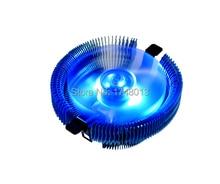 Jade Pájaro 4 E92C hidráulico del ventilador azul transparente, para Intel LGA775/1155/1156 para AMD754/939/AM2/AM2 +/AM3 CPU Cooler VENTILADOR de la CPU