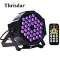 Thrisdar 36LED * 1W UV черный свет фиолетовый свет для сцены Ультрафиолетовый стробоскоп Blacklight KTV Pub Club Disco DJ Party Stage Light