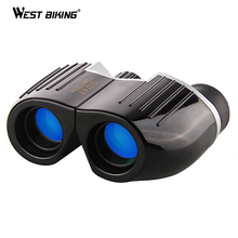 ФОТО west biking portable high times 12x22 bak4 prism binoculars hd all-optical blue film waterproof mini telescope porro binoculars