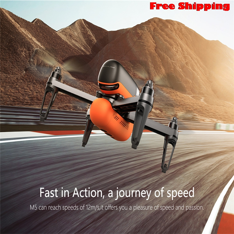 M5 GPS WIFI FPV RC Drone 17 Min With Ultrasonic Altitude Holding Point RTF GPS-Assited Hover Optical Flow Positioning 5 8g fpv rc drone rc126 wifi fpv rc