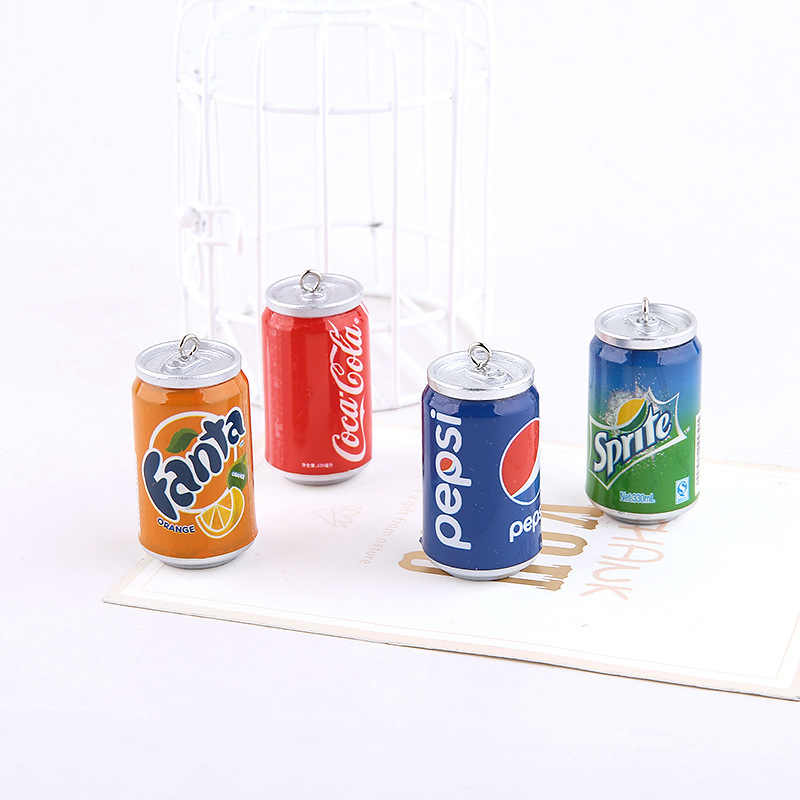 Cola Sprite Orange Juice Can Polymer Slime Charms Lizun Modeling Clay DIY Accesorios Box Toy For Children Slime Supplies Filler