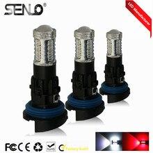 High power No faulty white 6000K led drl light hp24w G4 32smd 4014 15W 12V for peugeot citroen daytime running light