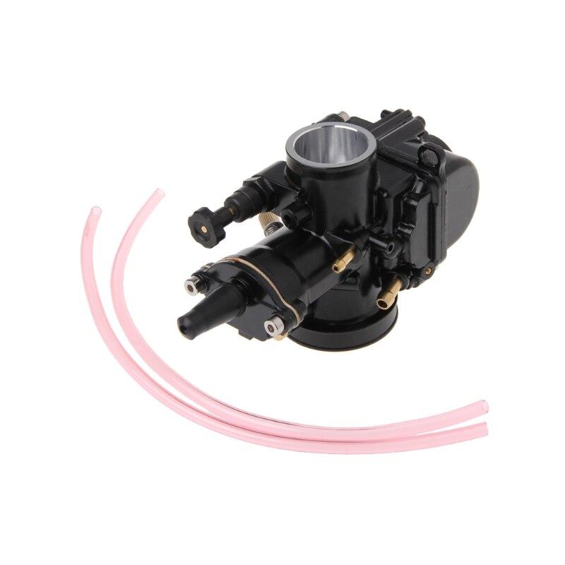 купить Universal Motorcycle 28mm Carburetor For Keihin Carb PWK Mikuni With Power Jet Black онлайн