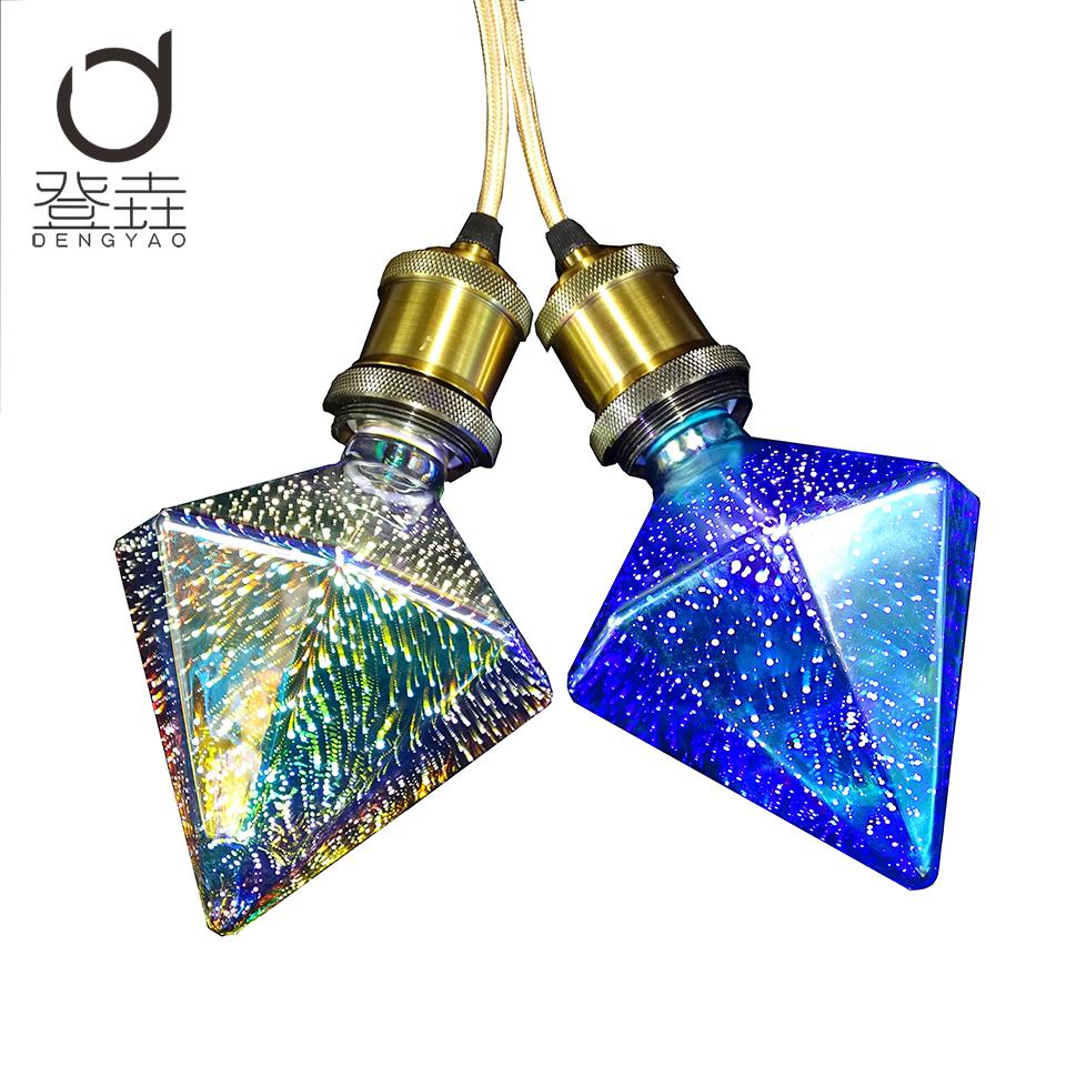 dengyao llev la bombilla e led de la lmpara d decoracin bombilla lampada luces navideas st