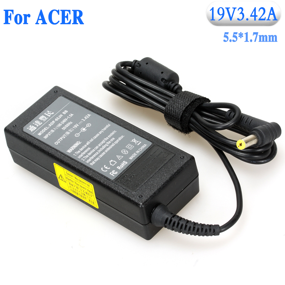 19V3.42A Laptop Notebook AC Power Adapter for Acer with 5.5*1.7mm high quality