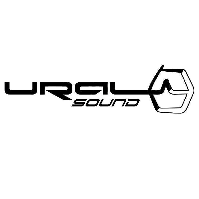 CS-1312#20*5cm Ural Sound V2 Funny Car Sticker Vinyl Decal Silver/black For Auto Car Stickers Styling
