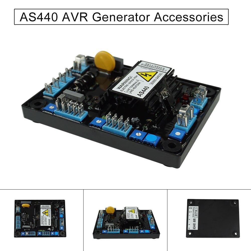 1pc Automatic Generator Voltage Regulator Dynamo Accessories AS440 WWO661pc Automatic Generator Voltage Regulator Dynamo Accessories AS440 WWO66