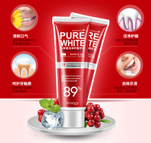 Cranberry Toothpaste Deep Clean White Tooth Paste Whitening Go Smoke Stains