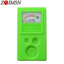 ZLIMSN Watch Battery Checker Power Tester Protable Plastic Button Watches Repair Tool Watchmaker