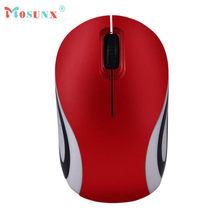 Hot-sale High Quality Gifts 2 Key Cute Mini 2.4 GHz Wireless Optical Mouse Mice For PC Laptop Notebook(China)