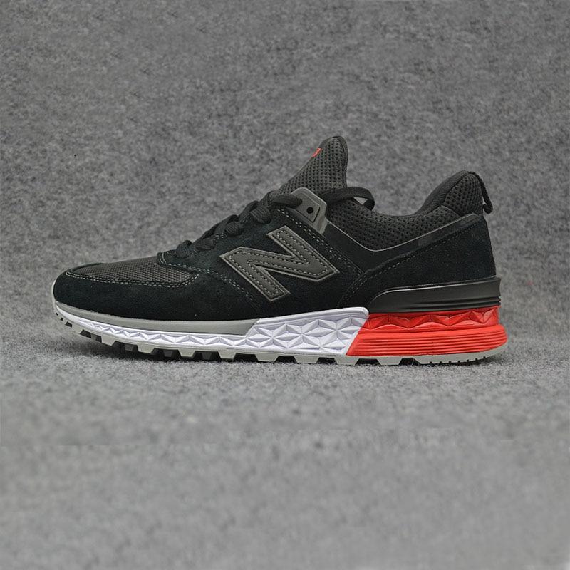 NEW BALANCE NB574 V2 Men Black Badminton Shoes High Quality Outdoor Sneaker New Arrival