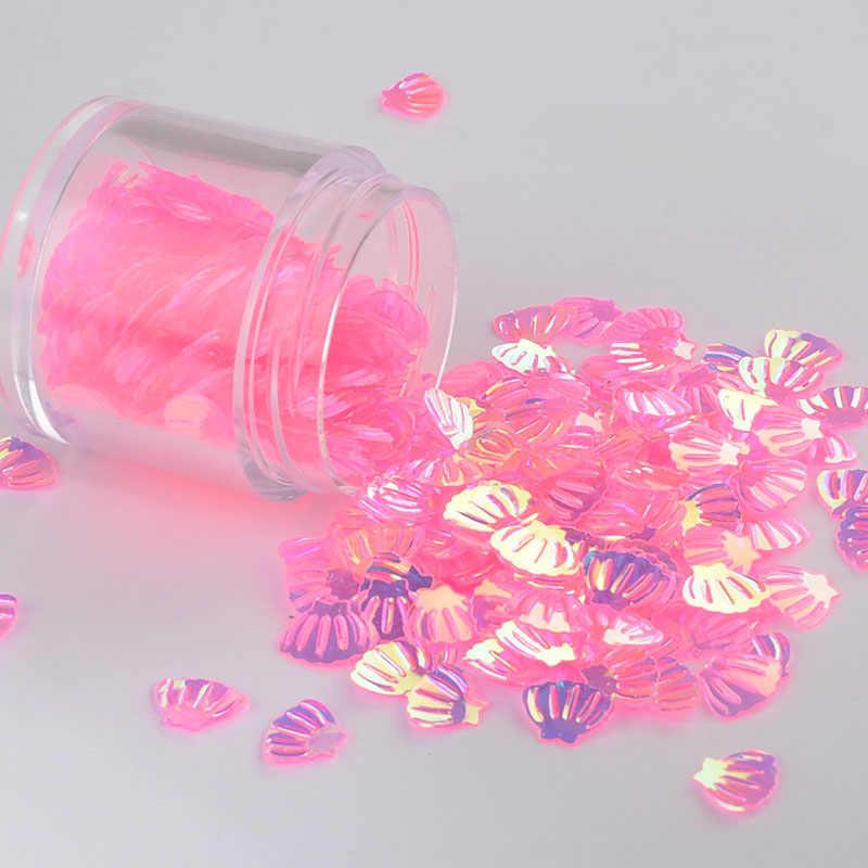 10 г/упак. розовый кристалл Mix Moon точка оболочки Swan ногтей пайетками Свадебный корабль, слизь создание свадебной Конфетти украшения