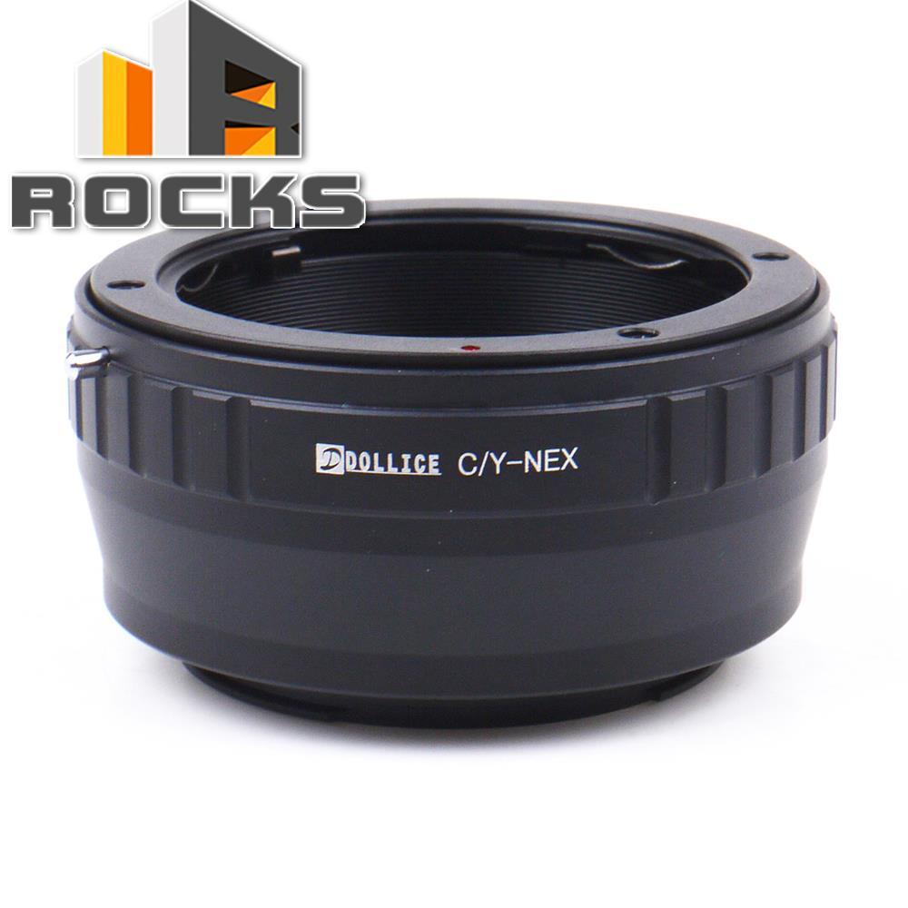 Dollice Len.s Adap.ter Suit For Contax CY Len.s to Sony E Mount NEX Camera A6000 A5000 A3000 NEX-5T NEX-3N NEX-5
