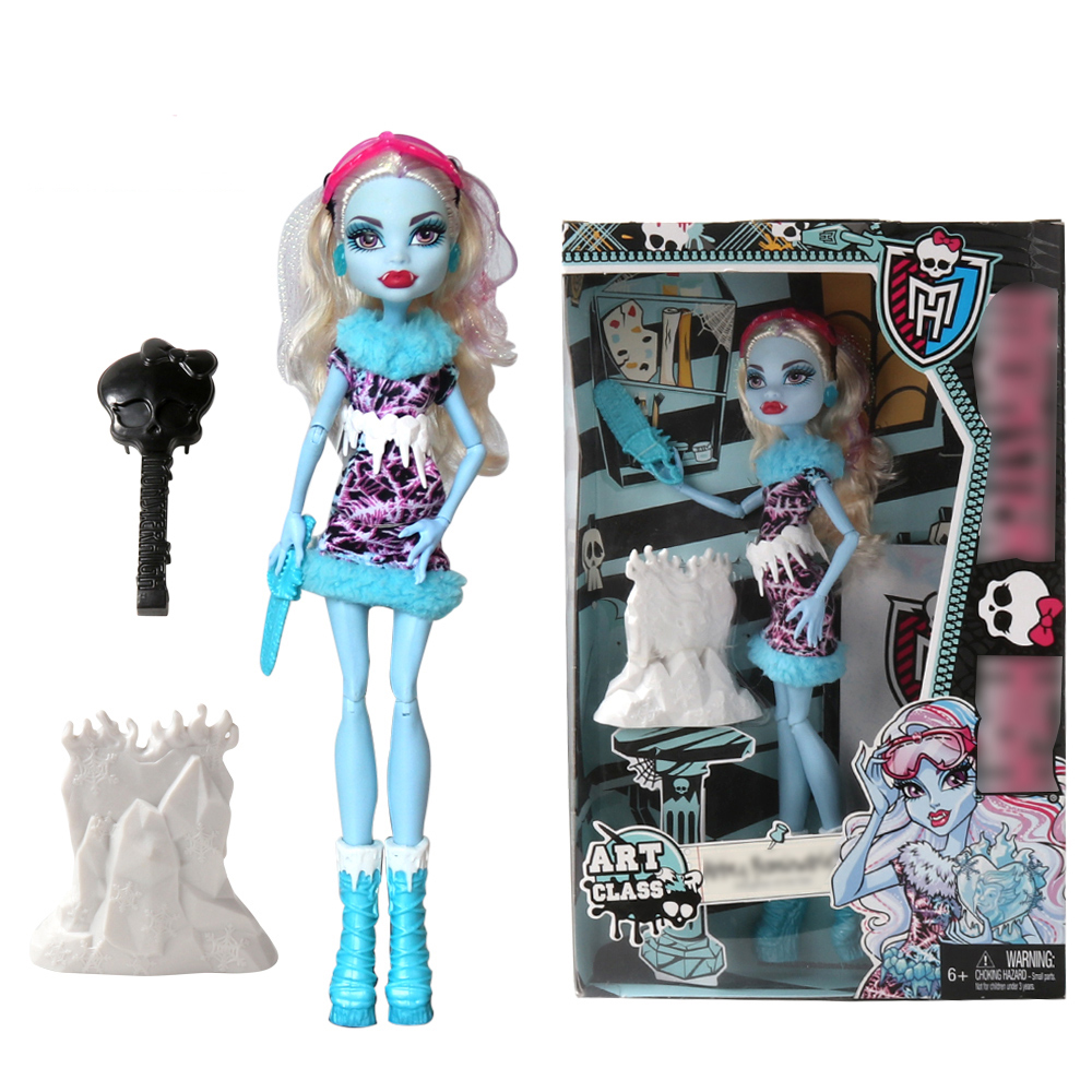 Original Brand 30CM Monster Doll High Quality Dolls For Girls Collection With Original Gift Box ( Abbey ) new original body for monster dolls best gift toys to child many styles to choose monster dolls only the body free shipping