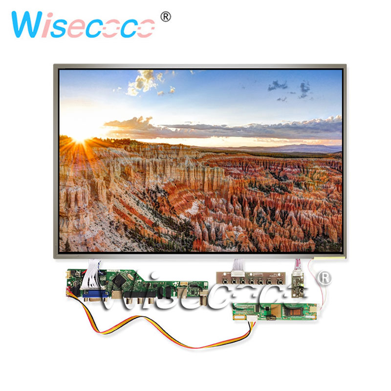 17.0 TFT LCD display 1440*900 60Hz with HDMI VGA AV USB TV computer headphone audio source output LVDS control driver board