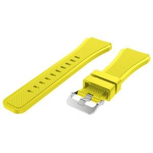Image 5 - 22Mm Wrist Strap Voor Samsung Galaxy Horloge 3 45Mm Silicone Horlogeband Armband Band Voor Huawei Horloge GT2 Gt 46Mm 42Mm Gt 2e 2 Pro