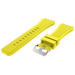 Image 5 - 22mm Wrist Strap For Samsung Galaxy Watch 3 45mm Silicone Watchband Bracelet Band For Huawei watch GT2 GT 46MM 42mm GT 2e 2 Pro