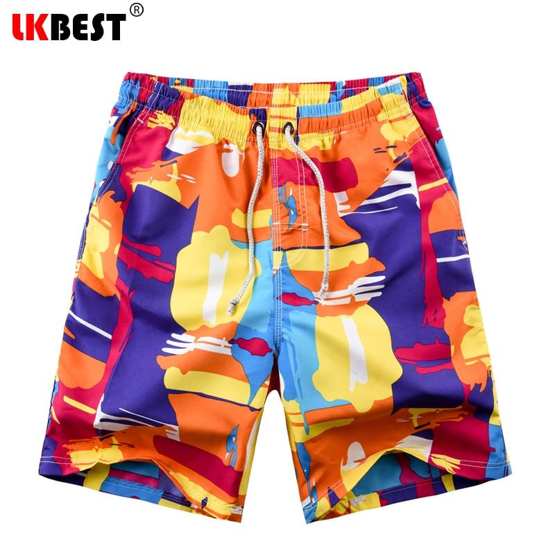 Lkbest New 2018 Shorts Men Summer Beach Shorts Fashion Mens Board