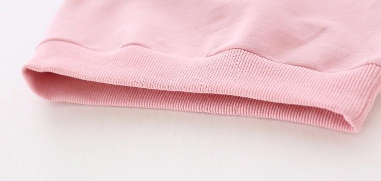 baby girl autumn fleece colorful fur balls pencil printed hoodies sweatshirt (8)