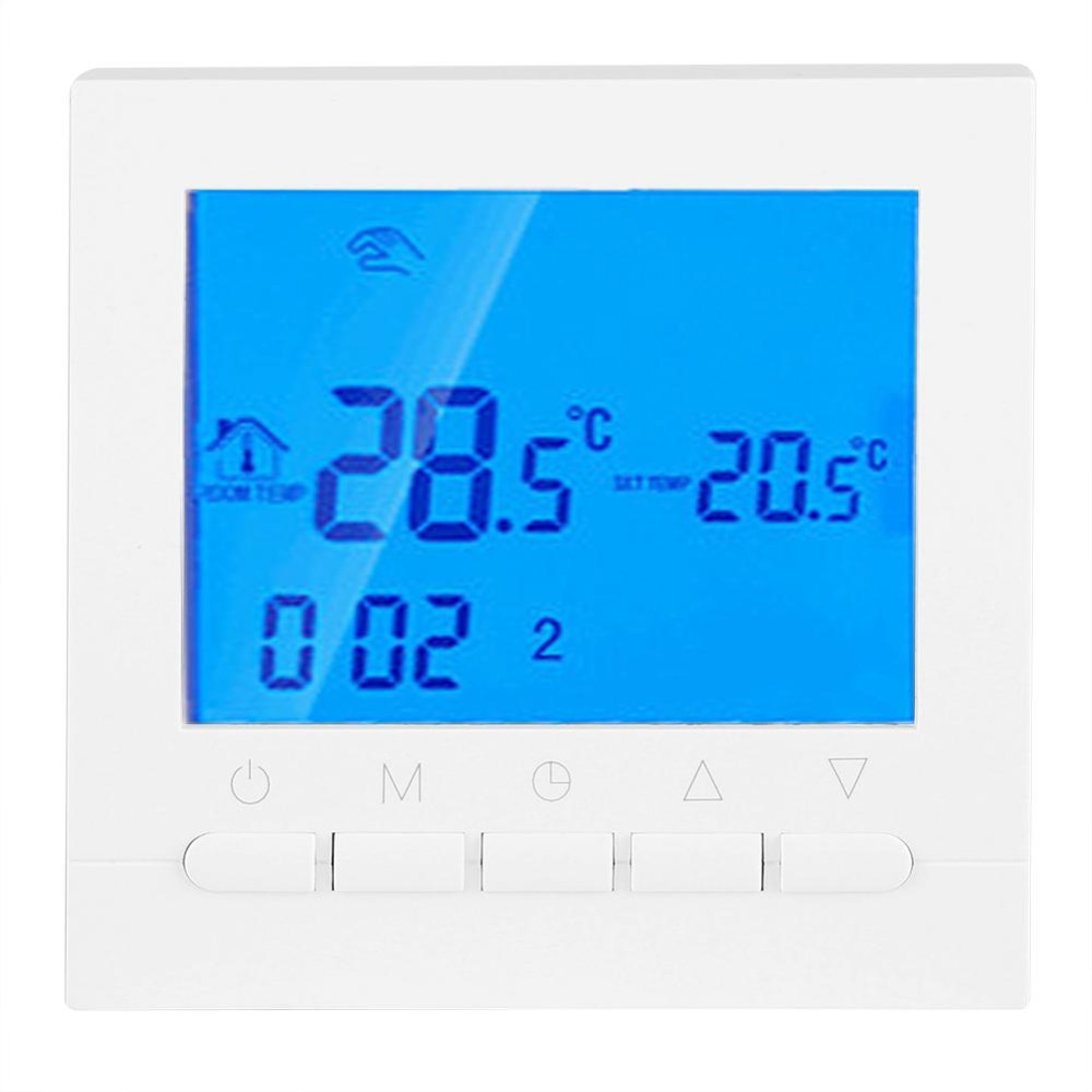 Automatically Calibration Programmable Wireless WiFi Heating Thermostat Digital LCD Touch Screen App Control Clock Timer hm digital valve shower controller 3 ways led touch screen control thermostat display lcd smart power outlet is compatible