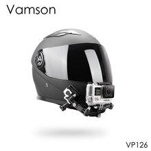 Vamson аксессуары для Gopro Hero 8 7 6 5 комплект шлем 4 способа Регулируемые поворотные руки шейный ремень крепление для Yi для SJCAM VP126C
