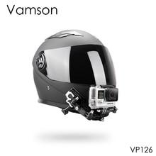 فامسون مجموعة من الملحقات لكاميرا Gopro Hero 8 7 6 5 ، خوذة ، 4 اتجاهات قابلة للتعديل ، أذرع محورية ، حزام رقبة ، Yi لـ SJCAM VP126C