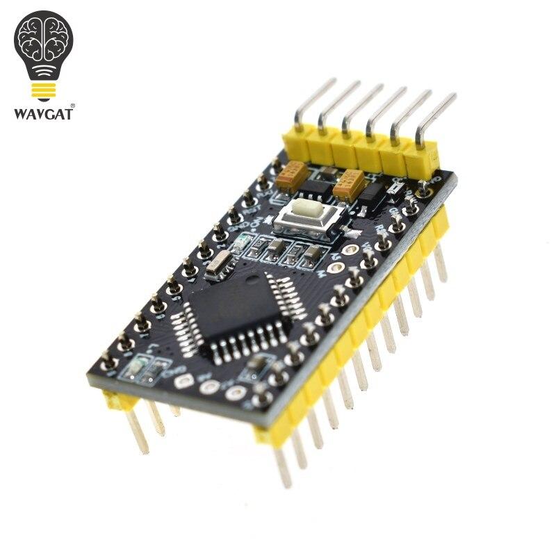WAVGAT Pro Mini ATMEGA328P 328 Mini ATMEGA328 5V 16MHz For Arduino Nano Microcontrol Micro Control Board