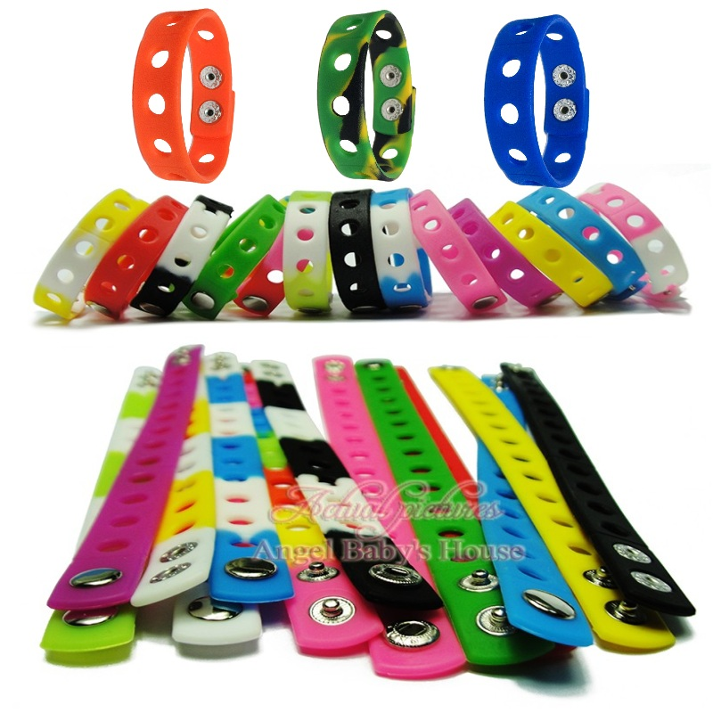 Frank Mixed 500pcs Free Dhl/ems 17 Colors 18cm Silicone Wristbands Soft Bracelets Bands For Croc Shoe Charms,kids Party Gifts To Be Highly Praised And Appreciated By The Consuming Public Furniture