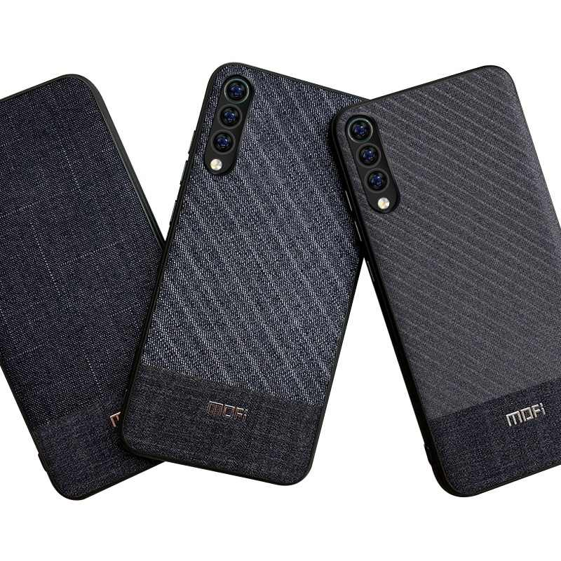 For Xiaomi Mi9 Case Mofi For Xiaomi Mi 9 SE Explore Case Cloth Fabrics For Xiaomi Mi9 SE Case Explore Version Cover Business SE