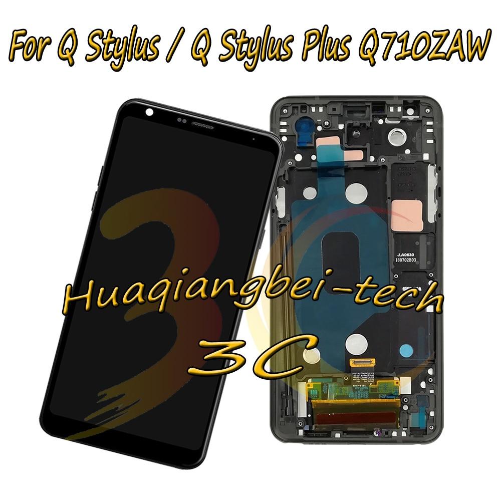 New For LG Q Stylus Q710GX Q710EM Q710WA Q Stylus Plus Q710ZAW Full LCD DIsplay Touch