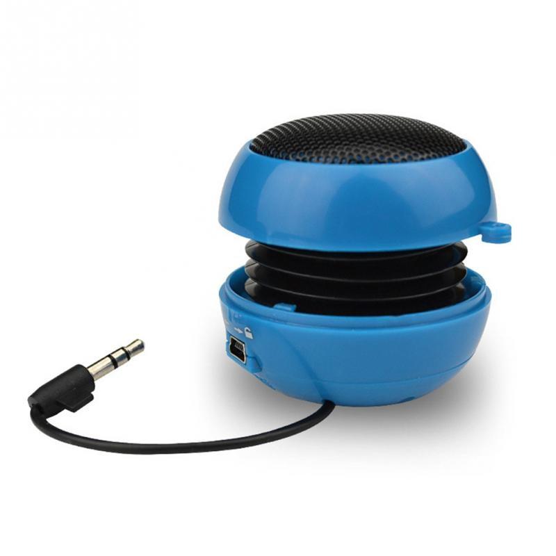 Mini Portable Hamburger Speaker <font><b>Amplifier</b></font> stereo bass Phone Sound Box home officeoutdoor Speaker Rechargeable for computer phone