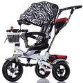 2017 roda carrinho de Criança triciclo criança bicicleta carrinho de bebê