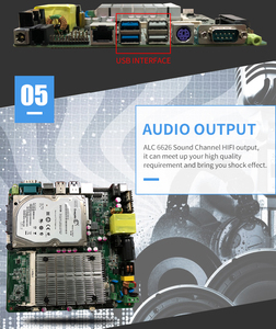 Image 5 - Main Board Lage Kosten Intel Celeron J1900 Processor Itx Industriële Moederbord 3 * Usb Voor Automaat