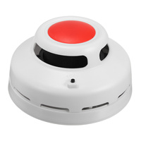 2 In1 Combination Carbon Monoxide And Smoke Alarm CO Smoke Detector Home Security Warning Alarm