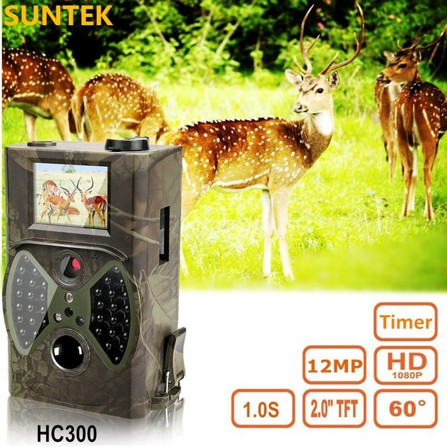 HC 300M Hunting Game Camera MMS Photo trap HD Scouting Infrared Outdoor Hunting Trail Video Camera black IR night vision camera цены