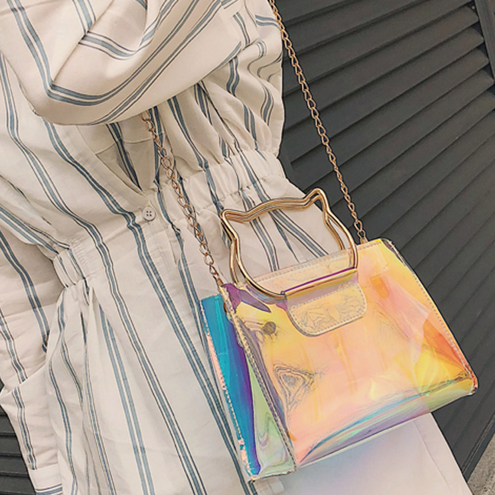 Crossbody Handbags Chain Messenger-Bag Women Female Mini -P
