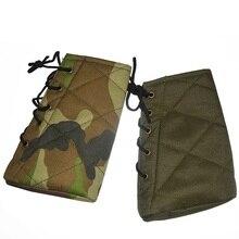 Oxford tela pistola pistolera caza Rifle funda protectora cubierta táctico amortiguación tipo cinturón cubierta de pistola tiro accesorios de caza