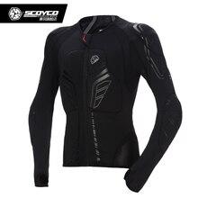 Scoyco Motorcycle Armor body motocross protector jaqueta moto motorbike chaquetas protective Jacket with seven Protector Clothes