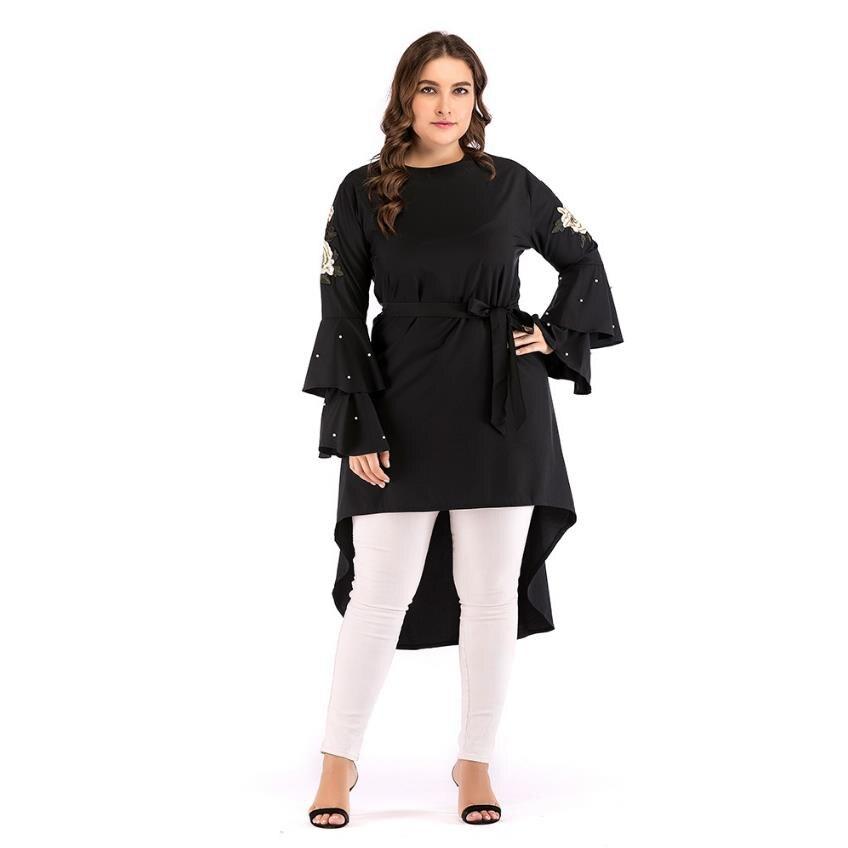 Plus size Adult embroidery muslimah Abayas Women Women's Abaya Women's Clothings