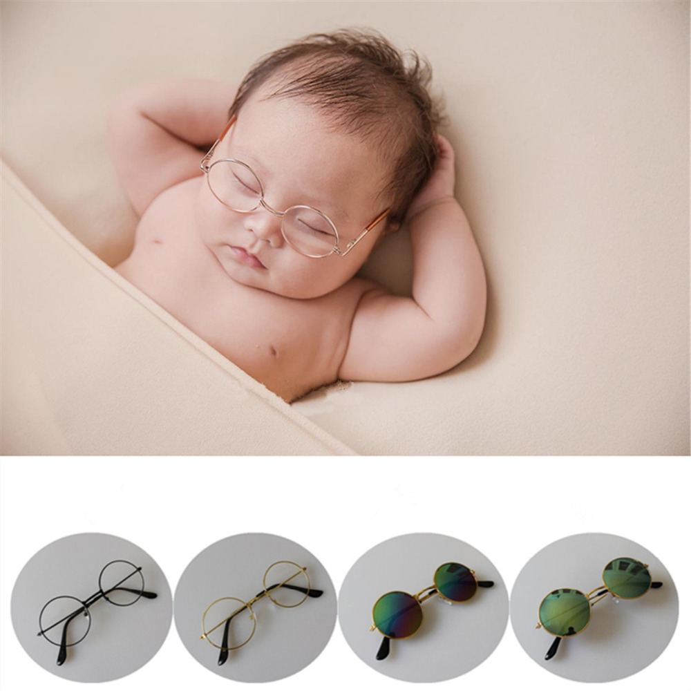 Baby Photography Props Sunglass Baby Prop Glasses Studio Infant Photo Props Photography Babies Accessories Baby Shoot Fotografia