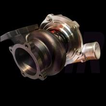 4 болта, GTX3076R, двойной шариковый подшипник турбо gt3076, gt3076r, турбонагнетатель gt30, турбонагнетатель, высокий поток, 5 осей, CNC заготовка, ускоритель колеса