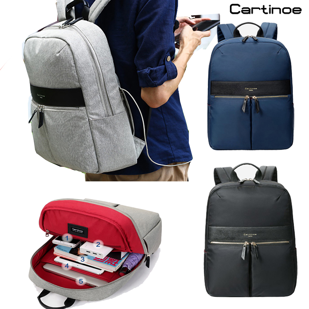 Cartinoe Brand Waterproof laptop Bag 14 15 15.4 inch backpack men Minimalist girls travel school book bag women backpacks обложка для паспорта printio советский плакат 1923 г